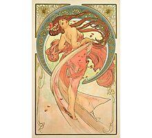 Alphonse Mucha - Dance Photographic Print