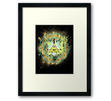 REALITY IS AN ILLUSION Framed Print