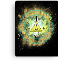REALITY IS AN ILLUSION Canvas Print