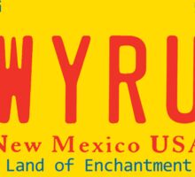 LWYRUP Bumper sticker / No plate Sticker