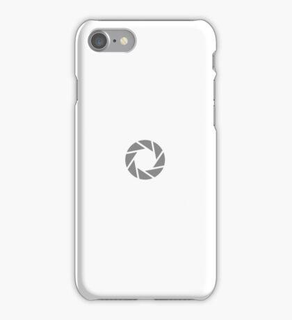 Aperture Science Logo iPhone Case/Skin