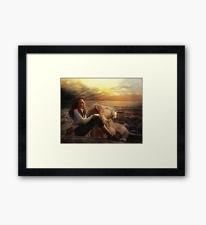 This side of Heaven Framed Print