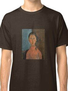 Amedeo Modigliani - Girl With Pigtails Classic T-Shirt