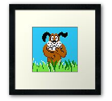 Duck Hunt from NES Framed Print