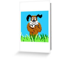 Duck Hunt from NES Greeting Card