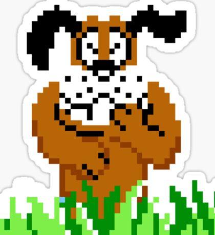 Duck Hunt from NES Sticker