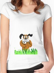 Duck Hunt from NES Women's Fitted Scoop T-Shirt