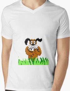 Duck Hunt from NES Mens V-Neck T-Shirt