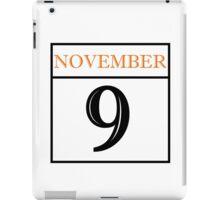 November 9 iPad Case/Skin