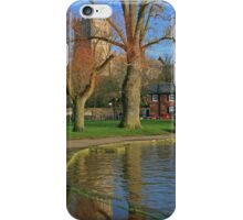 Christchurch Quay and Priory iPhone Case/Skin