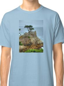 The Lone Cypress Along 17-Mile Drive Classic T-Shirt