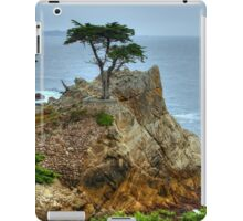 The Lone Cypress Along 17-Mile Drive iPad Case/Skin