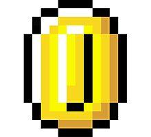 8-Bit Retro Coin Photographic Print