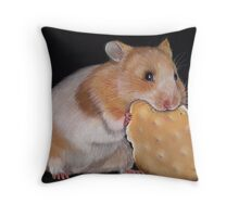 Hamster Goldhamster Throw Pillow