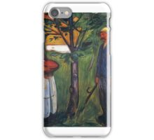 Fertility II - Edvard Munch iPhone Case/Skin