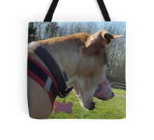 Tia loves her some Liver Cake Tote Bag