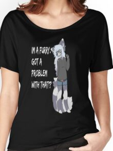 Furry Pride Women's Relaxed Fit T-Shirt