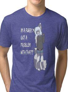 Furry Pride Tri-blend T-Shirt