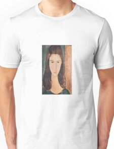 Amedeo Modigliani - Portrait Of A Young Girl Unisex T-Shirt