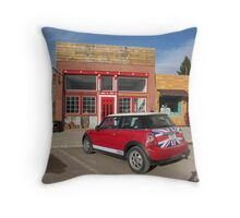 MINI Moments, Philipsburg, Montana Throw Pillow