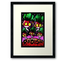 Radish Invasion  Framed Print