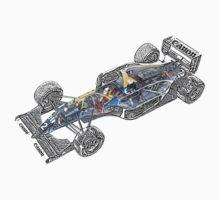 Williams Renault FW15C Kids Tee