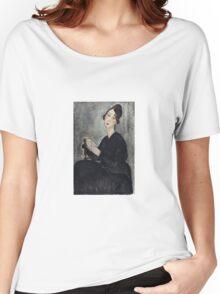 Amedeo Modigliani - Portrait Of Dedie Odette Hayden Women's Relaxed Fit T-Shirt