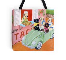 Taco Shop Labradors Tote Bag