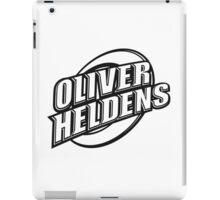 Oliver Heldens | Oficial Logo | High Quality | Black iPad Case/Skin