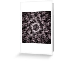 Fractured Crystal Greeting Card