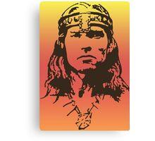 Conan Portrait Canvas Print