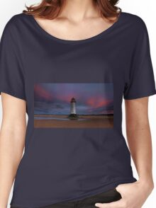 Talacre Sunset. Women's Relaxed Fit T-Shirt