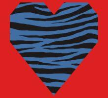0045 Bleu de France Tiger Kids Tee