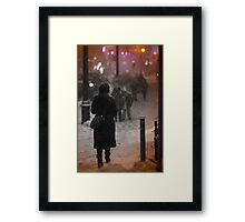 Snowy Night Framed Print
