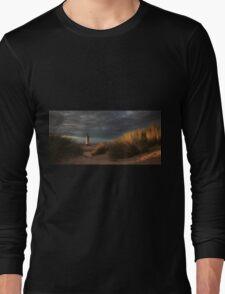 Golden Light at Talacre Long Sleeve T-Shirt