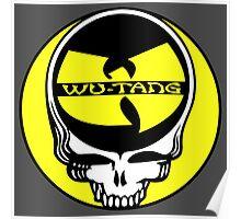 Wu Tang Skull Poster