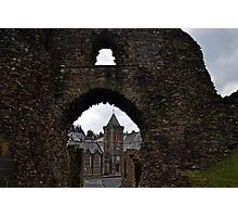 Launceston Castle.....Cornwall UK Photographic Print
