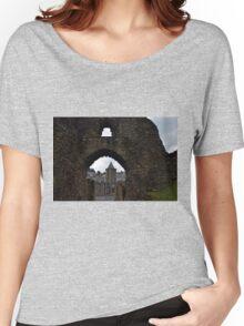 Launceston Castle.....Cornwall UK Women's Relaxed Fit T-Shirt