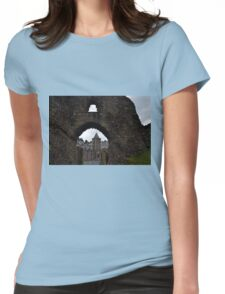 Launceston Castle.....Cornwall UK Womens Fitted T-Shirt