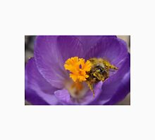 Easter Bee in Purple Crocus Unisex T-Shirt