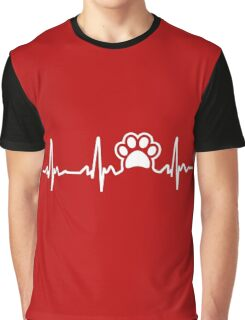 Paw Lifeline Graphic T-Shirt