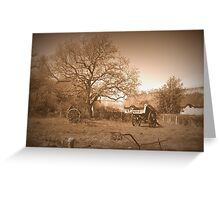 Historical Village de Kerhinet Greeting Card