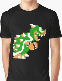 8-bit Bowser Graphic T-Shirt