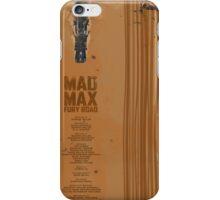 Mad Max Fury Road  iPhone Case/Skin