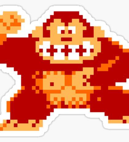 8-Bit Donkey Kong Sticker