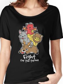Fight for the throne Women's Relaxed Fit T-Shirt