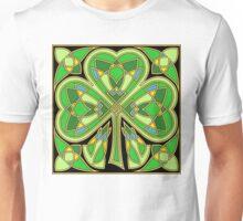 Knotwork Shamrock Unisex T-Shirt