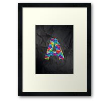 Fun Letter - A Framed Print