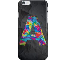 Fun Letter - A iPhone Case/Skin