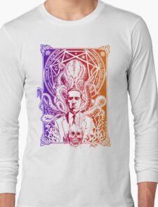 Cthulhu Howard Phillips Lovecraft HP historical society  Long Sleeve T-Shirt